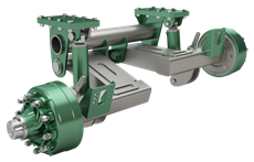 Hydraulic Suspension Axle System / Independent