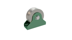 Rail Pulley Wheel - With Pin