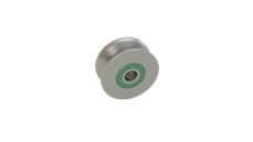 Rail Pulley - With Pin