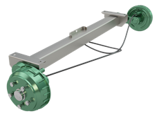 Torsion Axle With Brake