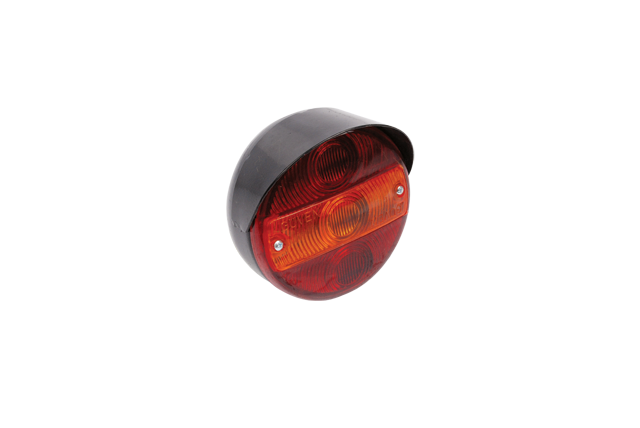 CYR 153500 Rear Lamp Round