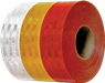CYR 154380 Strip Reflector Yellow - White - Red / 50 mt